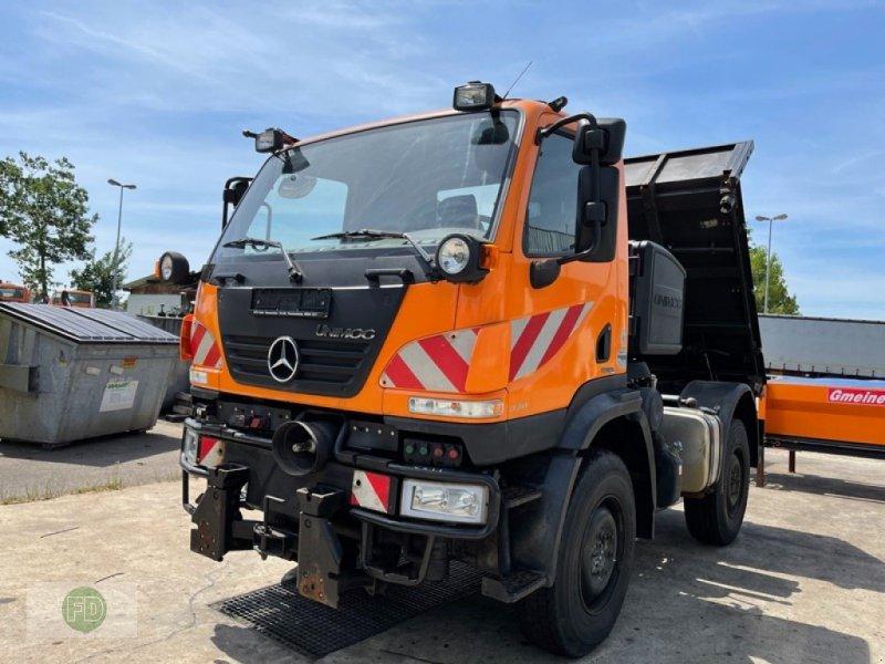Traktor типа Mercedes-Benz Unimog U20 ** Agrar **, Gebrauchtmaschine в Hinterschmiding (Фотография 1)