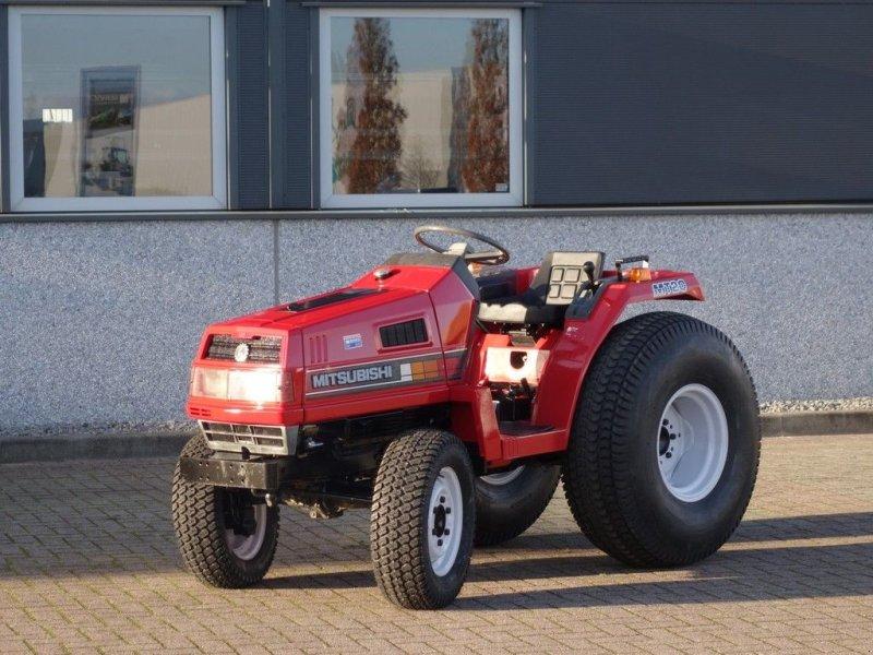 Traktor des Typs Mitsubishi MT20 4wd / 1070 Draaiuren / Gazonbanden, Gebrauchtmaschine in Swifterband (Bild 1)