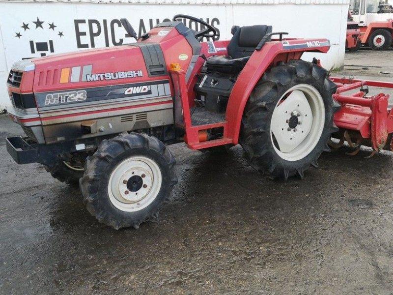 Traktor des Typs Mitsubishi MT23D, Gebrauchtmaschine in Leende (Bild 1)