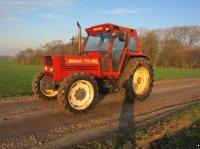 New Holland 110-90 med orginal TURBO Air Condition få timer årg 2002 Traktor