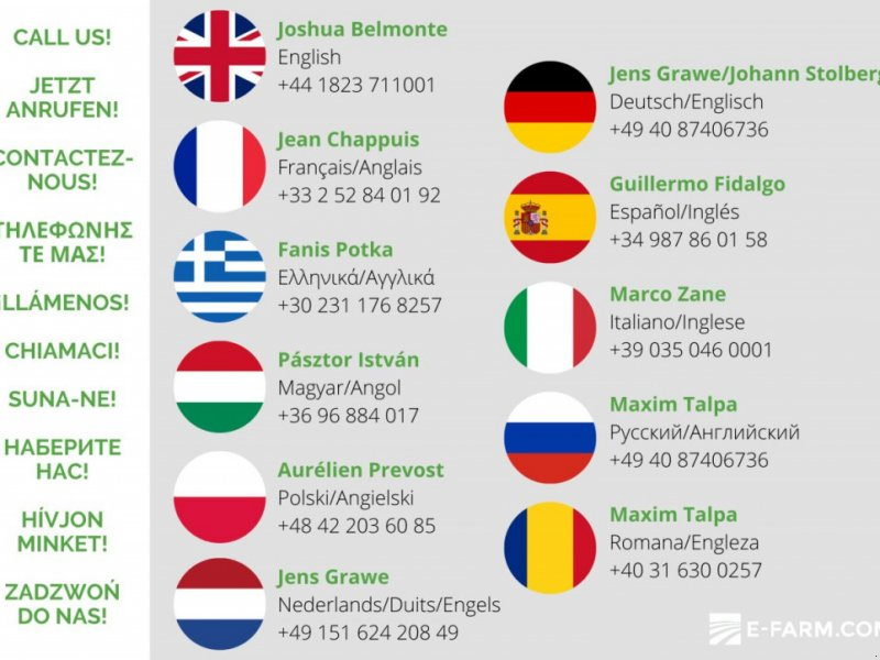 Traktor typu New Holland 7.250, Gebrauchtmaschine w 120 GARZYN (Zdjęcie 1)