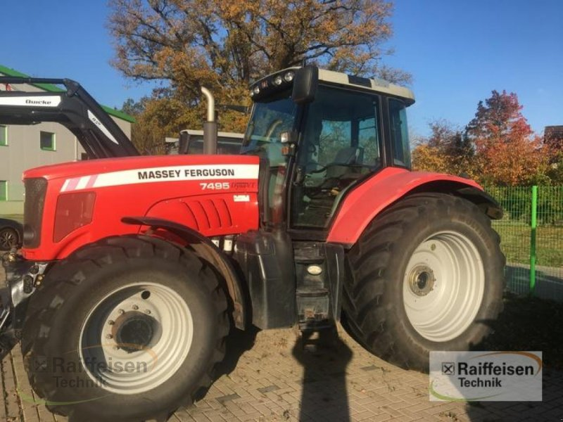 Traktor des Typs New Holland 7495 Dyna VT n, Gebrauchtmaschine in Tülau-Voitze (Bild 1)