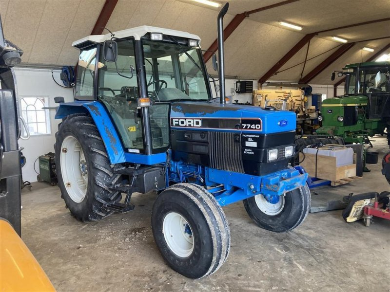 Traktor типа New Holland 7740 SL, Gebrauchtmaschine в Thorsø (Фотография 1)