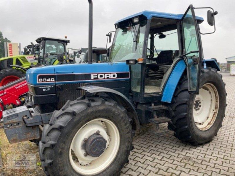 Traktor типа New Holland 8340 A, Gebrauchtmaschine в Belzig-Schwanebeck (Фотография 1)