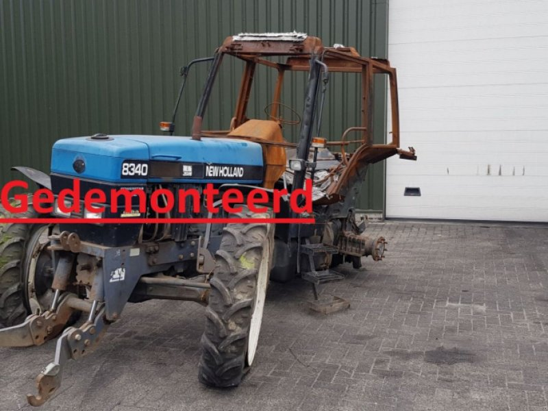 Фотография New Holland 8340 SLE