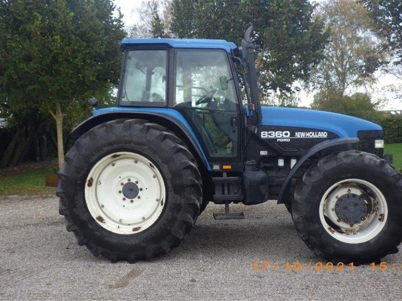 Traktor типа New Holland 8360 4WD Frontlift, Gebrauchtmaschine в Ringsted (Фотография 1)