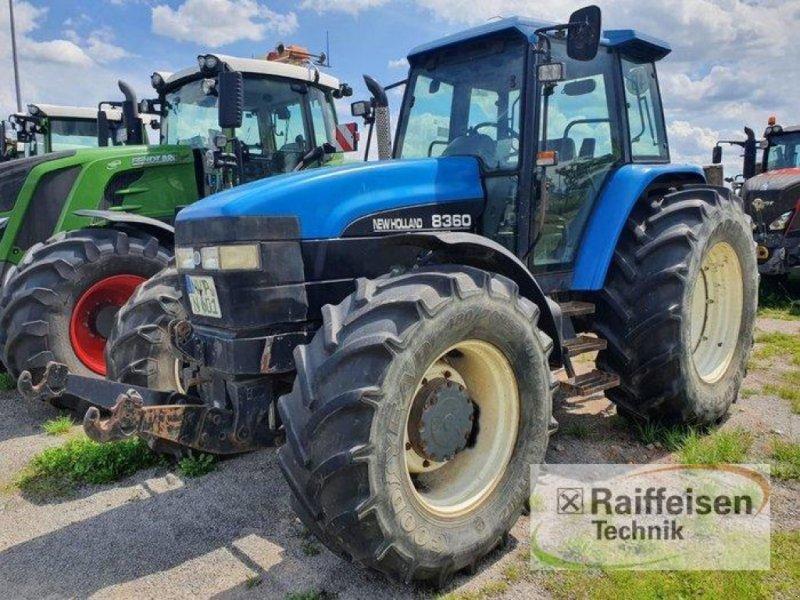 Traktor des Typs New Holland 8360, Gebrauchtmaschine in Kruckow (Bild 1)