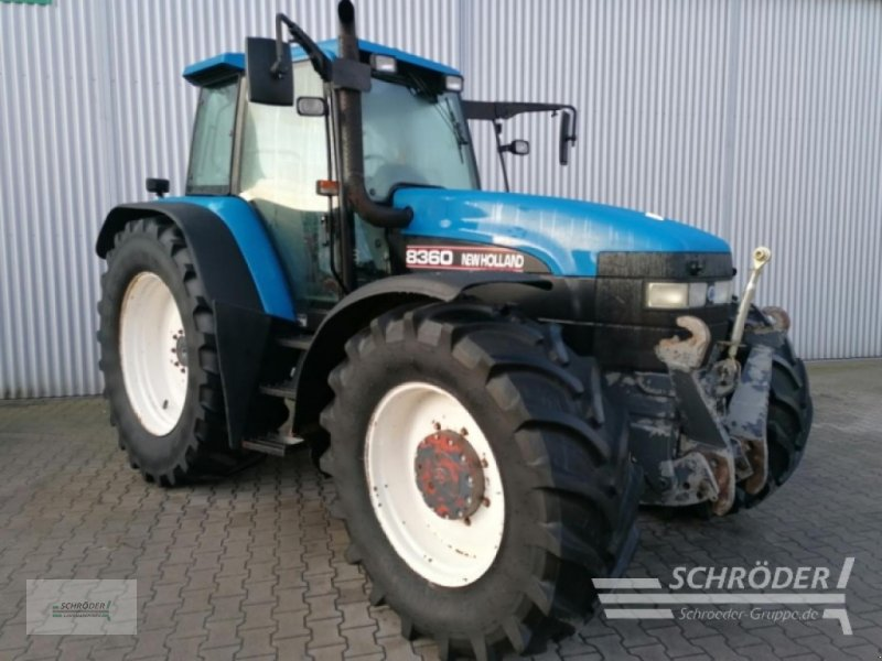 Traktor des Typs New Holland 8360, Gebrauchtmaschine in Wildeshausen (Bild 1)