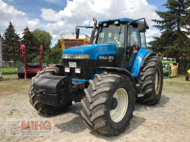 Traktor des Typs New Holland 8970, Gebrauchtmaschine in Dummerstorf OT Petsc (Bild 1)