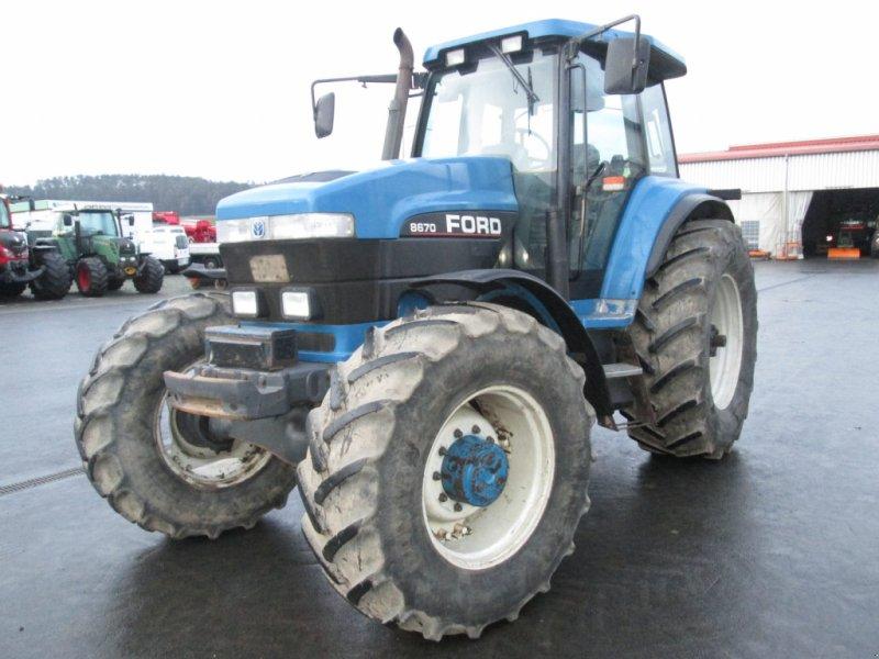 Traktor des Typs New Holland G170 / Ford 8670, Gebrauchtmaschine in Wülfershausen (Bild 8)