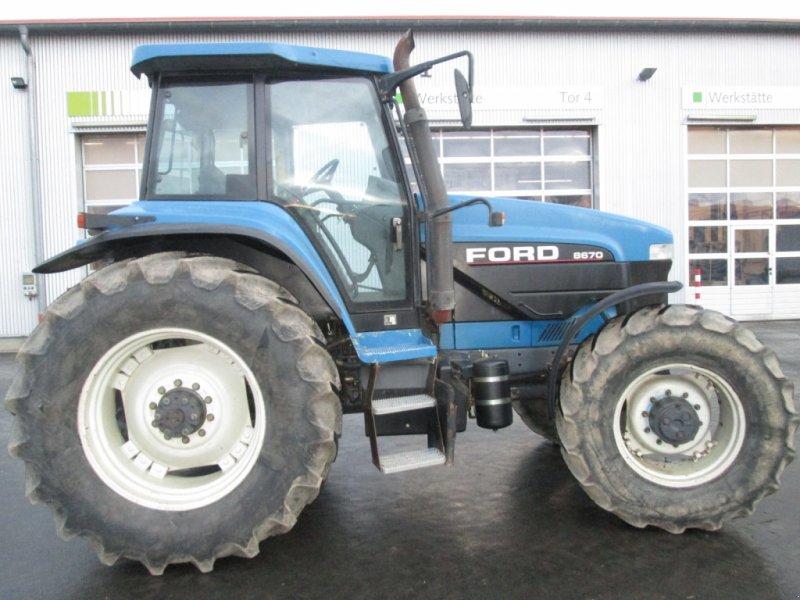 Traktor des Typs New Holland G170 / Ford 8670, Gebrauchtmaschine in Wülfershausen (Bild 1)