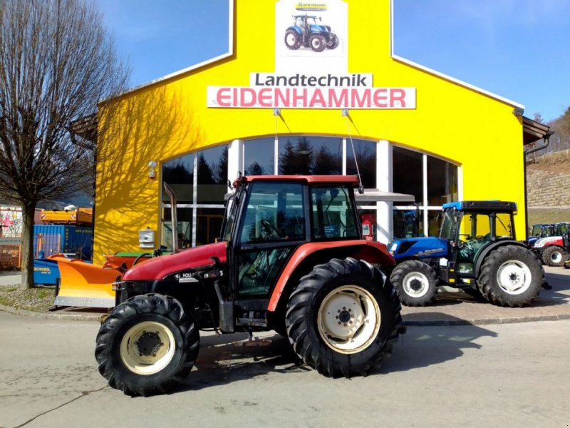 Traktor des Typs New Holland L 75 Turbo, Gebrauchtmaschine in Burgkirchen (Bild 1)
