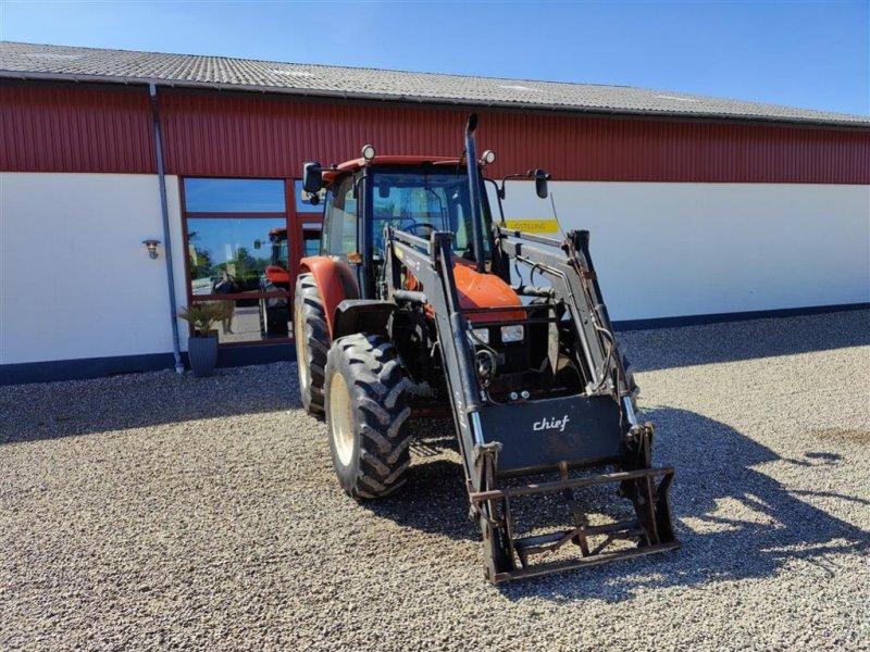 Traktor typu New Holland L85 med Cheif Super 13 frontlæsser, Gebrauchtmaschine w Storvorde (Zdjęcie 1)