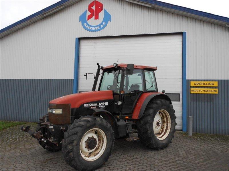 Traktor типа New Holland M115 Turbo, Gebrauchtmaschine в Skanderborg (Фотография 1)