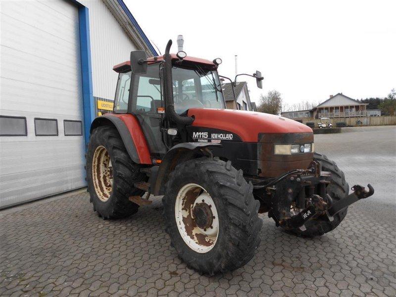 Traktor des Typs New Holland M115 Turbo, Gebrauchtmaschine in Skanderborg (Bild 2)
