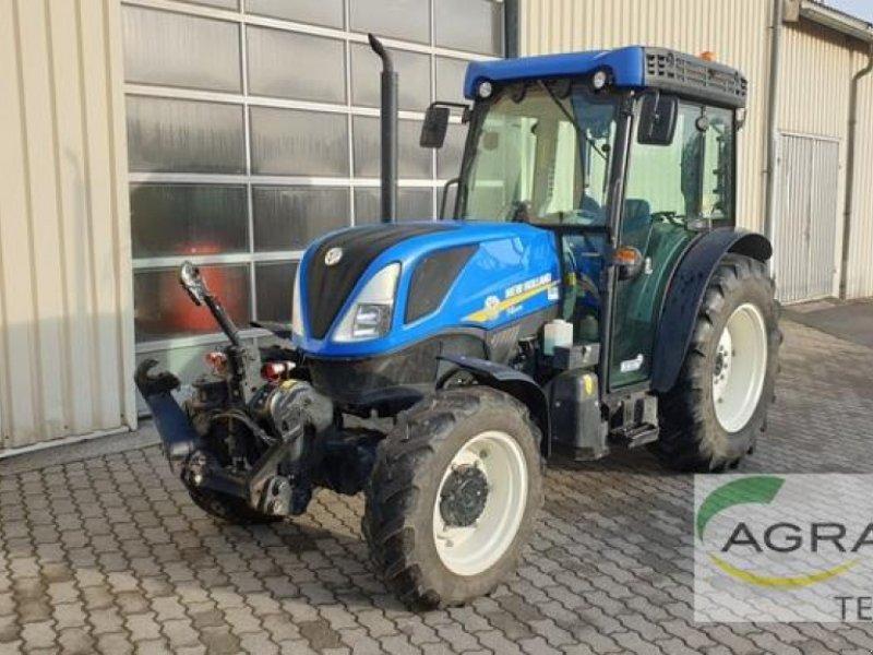 Traktor des Typs New Holland T 4.100 F CAB, Gebrauchtmaschine in Grimma (Bild 1)