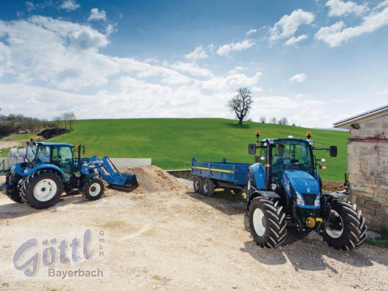 Traktor des Typs New Holland T 4.55, Neumaschine in Bayerbach (Bild 2)