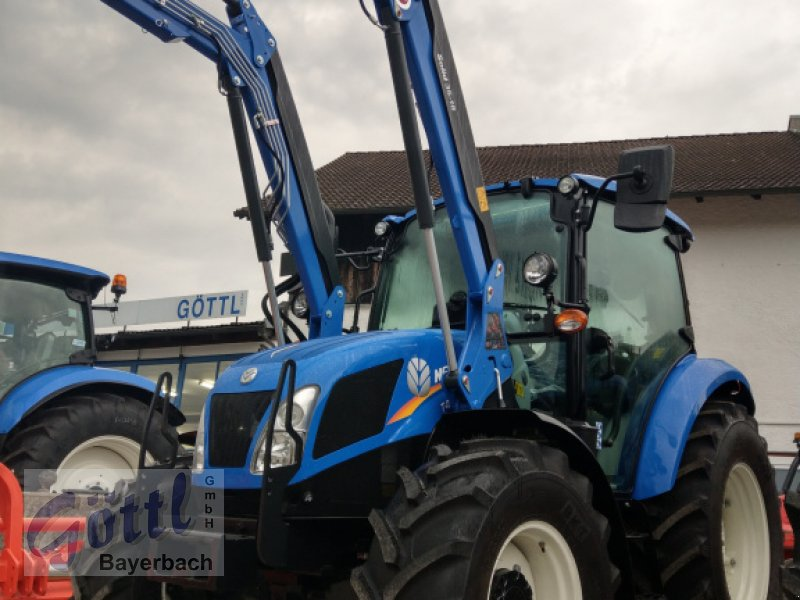 Traktor des Typs New Holland T 4.55, Neumaschine in Bayerbach (Bild 1)