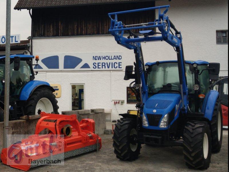 Traktor des Typs New Holland T 4.55, Neumaschine in Bayerbach (Bild 4)