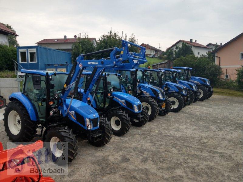 Traktor des Typs New Holland T 4.55, Neumaschine in Bayerbach (Bild 7)