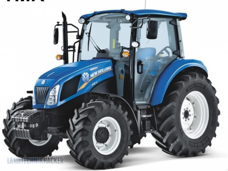 Traktor des Typs New Holland T 4.55, Neumaschine in Gotteszell (Bild 1)