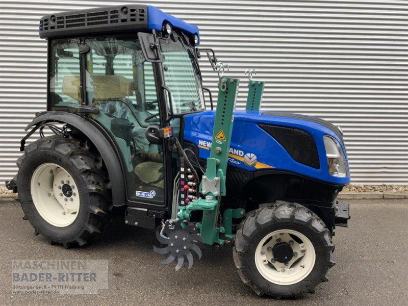 Traktor типа New Holland T 4.80 V CAB Terragl, Neumaschine в Freiburg (Фотография 1)