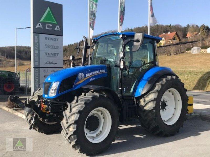 Traktor des Typs New Holland T 5.105, Gebrauchtmaschine in Markt Hartmannsdorf (Bild 1)