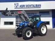 Traktor des Typs New Holland T 5.95 + CHARGEUR, Gebrauchtmaschine in Montauban