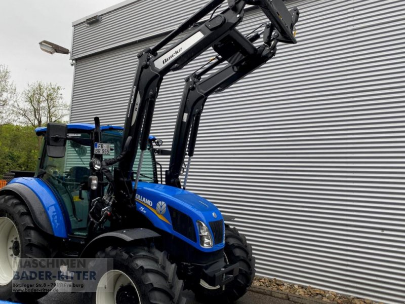 Traktor a típus New Holland T 5.95 DC 1.5 HD, Neumaschine ekkor: Freiburg (Kép 1)