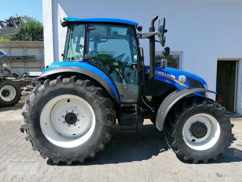 Traktor des Typs New Holland T 5.95, Neumaschine in Obing (Bild 1)