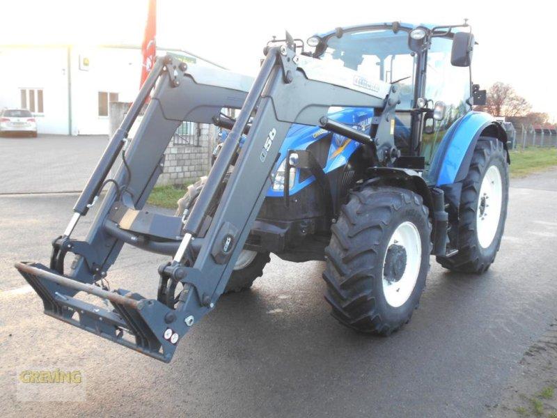 Traktor des Typs New Holland T 5.95, Gebrauchtmaschine in Greven (Bild 3)