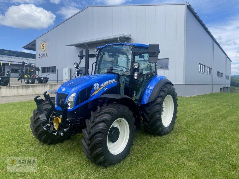 Traktor des Typs New Holland T 5.95, Neumaschine in Fischbach (Bild 1)