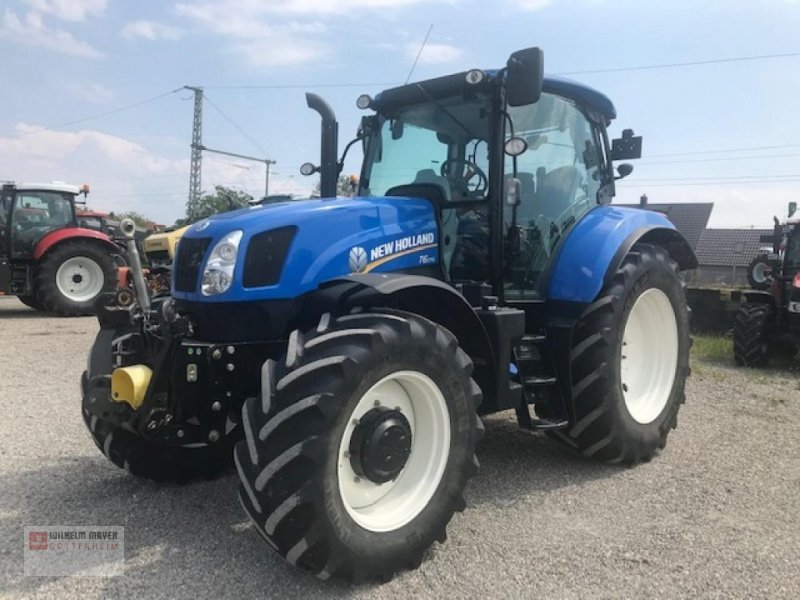Traktor des Typs New Holland T 6 . 175, Gebrauchtmaschine in Gottenheim (Bild 1)