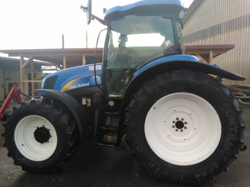 Traktor типа New Holland T 6020, Gebrauchtmaschine в Hohenfels (Фотография 3)