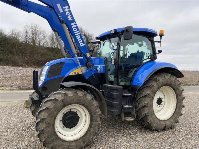 Traktor a típus New Holland T 6050 DK. BARE FLOT Frontlæsser -samme som T7.170, Gebrauchtmaschine ekkor: Vejle (Kép 1)