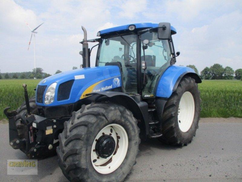 Traktor des Typs New Holland T 6070, RangeCommand,, Gebrauchtmaschine in Wettringen (Bild 1)