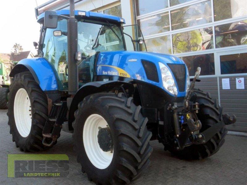 Traktor a típus New Holland T 7050 Auto Command, Gebrauchtmaschine ekkor: Homberg (Ohm) - Maul (Kép 2)