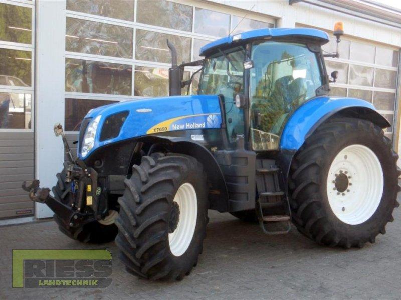Traktor a típus New Holland T 7050 Auto Command, Gebrauchtmaschine ekkor: Homberg (Ohm) - Maul (Kép 10)