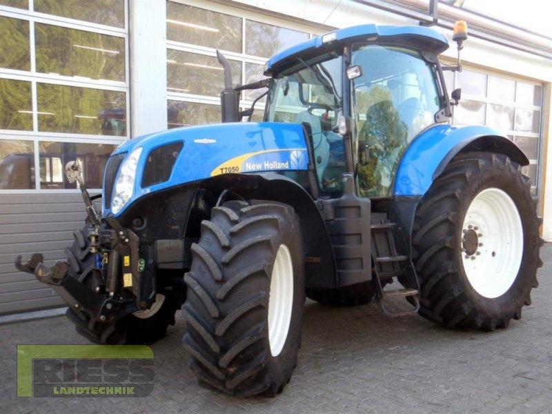Traktor a típus New Holland T 7050 Auto Command, Gebrauchtmaschine ekkor: Homberg (Ohm) - Maul (Kép 1)