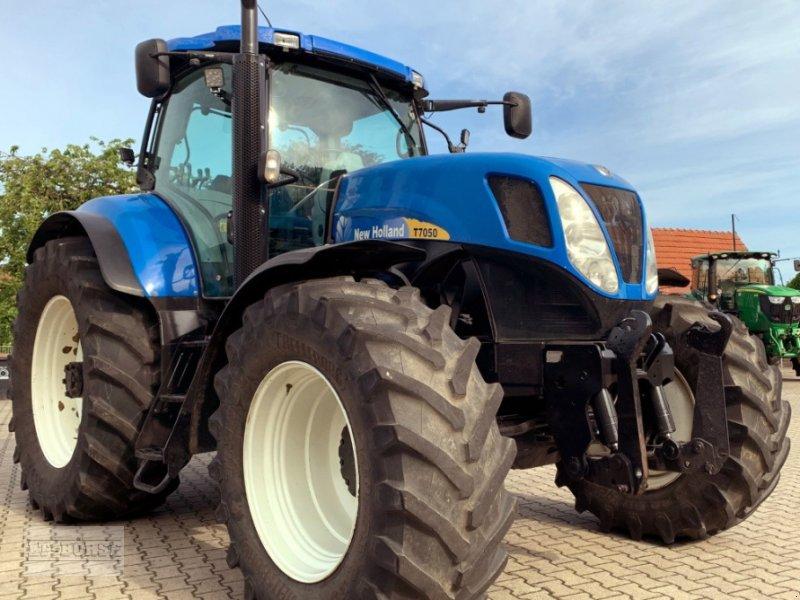 Traktor typu New Holland T 7050 PC Allrad, Gebrauchtmaschine w Bramsche (Zdjęcie 1)