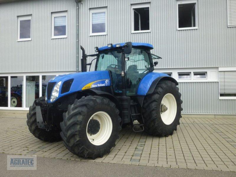 Traktor des Typs New Holland T 7060, Gebrauchtmaschine in Salching bei Straubing (Bild 3)