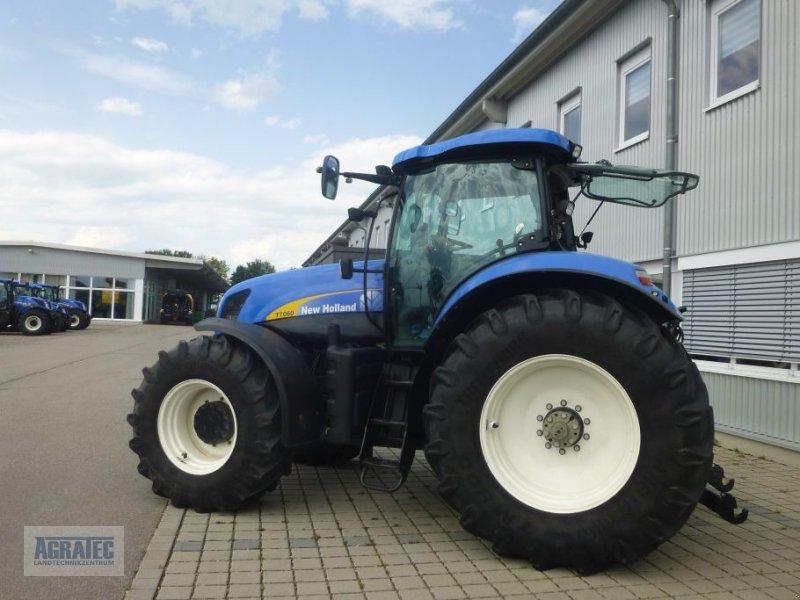 Traktor des Typs New Holland T 7060, Gebrauchtmaschine in Salching bei Straubing (Bild 4)