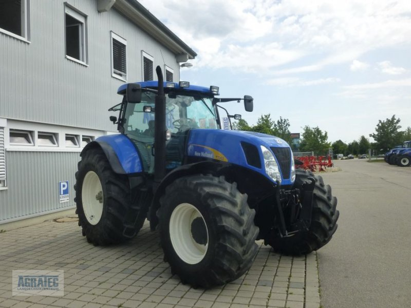 Traktor des Typs New Holland T 7060, Gebrauchtmaschine in Salching bei Straubing (Bild 5)