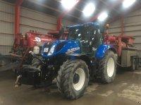 New Holland T 7.210 DK. AUTOCOMMAND  frontlift-affjedret foraksel-vario gearkasse-forberedt autostyring. Traktor
