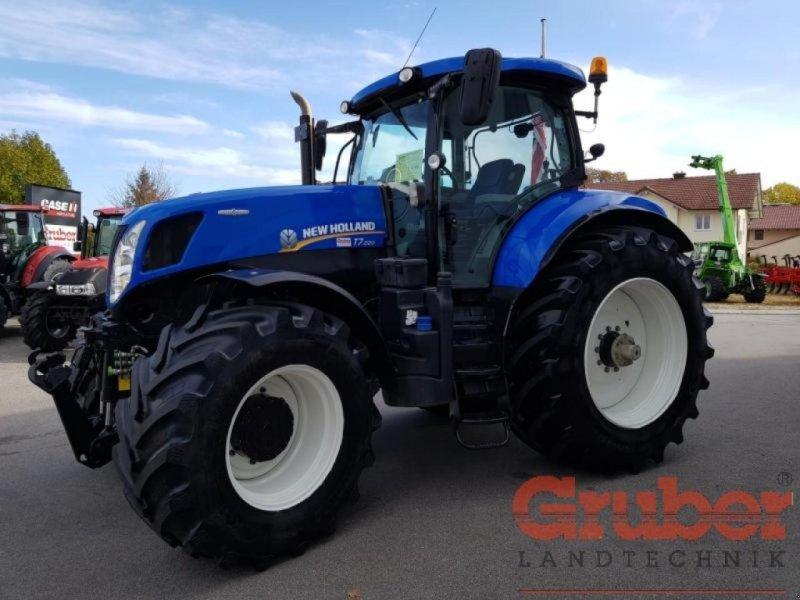 Traktor des Typs New Holland T 7.220 AC, Gebrauchtmaschine in Ampfing (Bild 1)