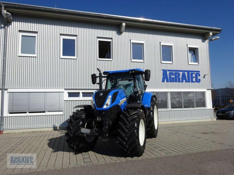 Traktor типа New Holland T 7.225 AutoCommand, Gebrauchtmaschine в Salching bei Straubing (Фотография 1)