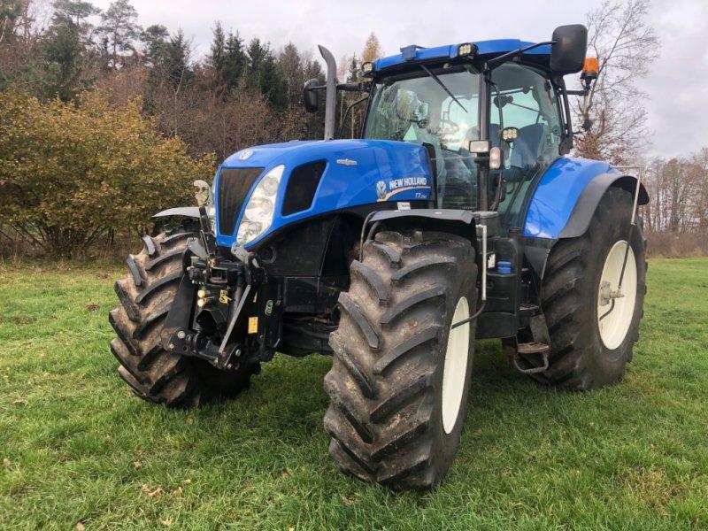Traktor des Typs New Holland T 7.250, Gebrauchtmaschine in Leutershausen (Bild 1)