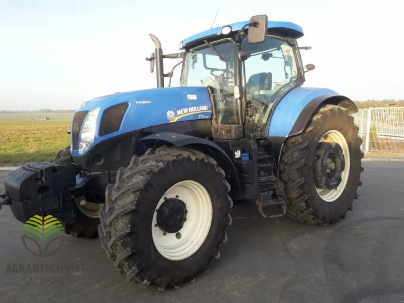 Traktor des Typs New Holland T 7.270 AC, Gebrauchtmaschine in Ebersbach (Bild 1)