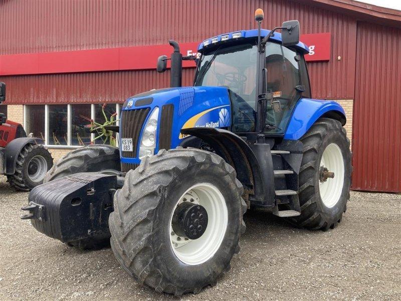 Traktor a típus New Holland T 8040 Med autostyring RTK, Gebrauchtmaschine ekkor: Store Heddinge (Kép 1)