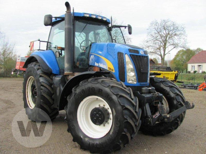 Traktor des Typs New Holland T 8040, Gebrauchtmaschine in Kleeth (Bild 2)